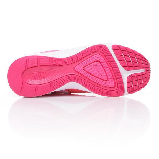 NIKE DUAL FUSION X Zapatillas Running Rosa Niña