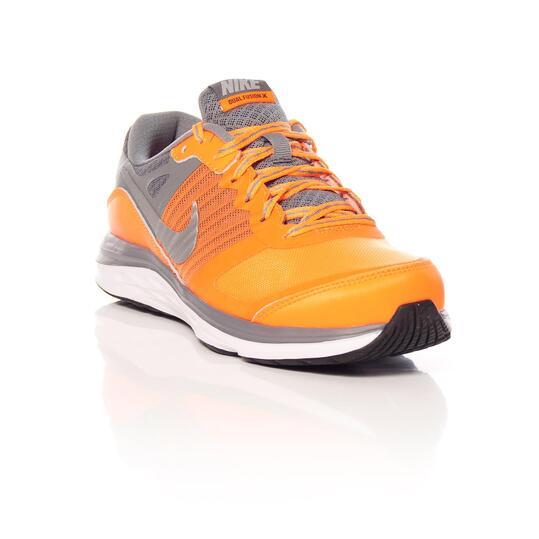 NIKE DUAL FUSION X Zapatillas Running Naranja Niño (36,5-40)