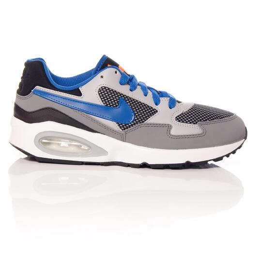 NIKE AIR MAX Zapatillas Casual Gris Niño (36,5-40)