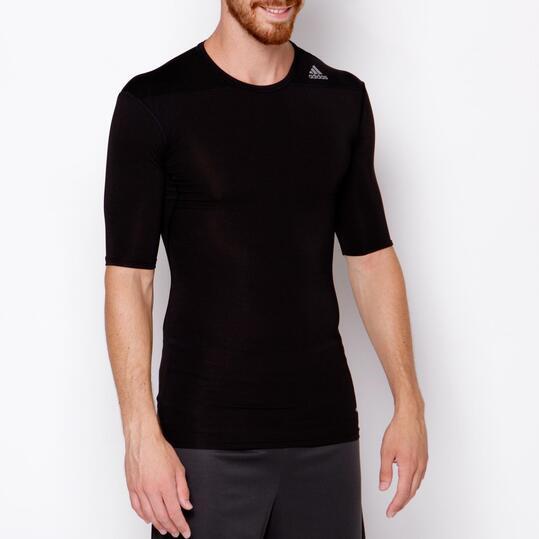ADIDAS TECHFIT Camiseta Running Hombre Negra