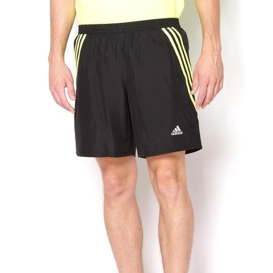 Sprinter Corto Amarillo Negro Pantalón Adidas Running H0PqWYZ