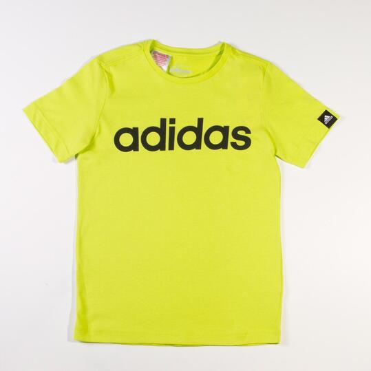 ADIDAS Camiseta Manga Corta Amarillo Niño