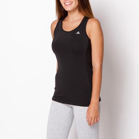 Camiseta Tirantes ADIDAS CLIMA Negro Mujer