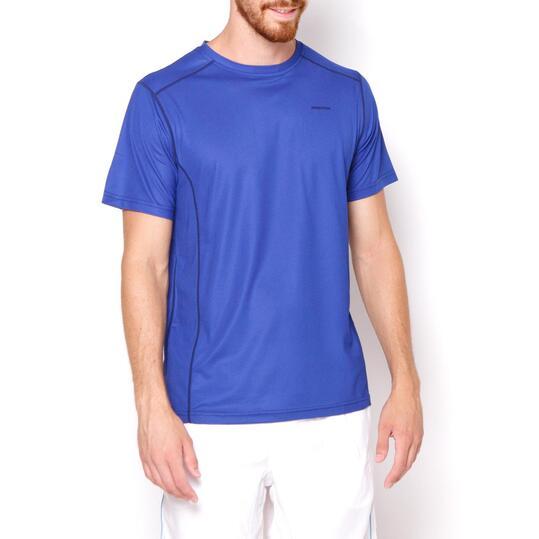 PROTON Camiseta Azul Hombre