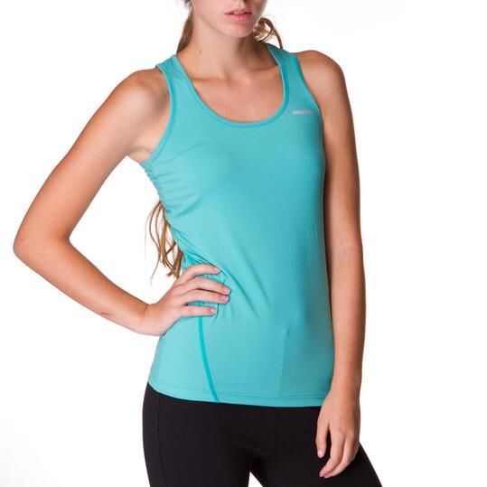 PROTON Camiseta Verde Mujer