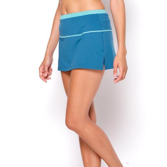 PROTON Falda Azul Mujer