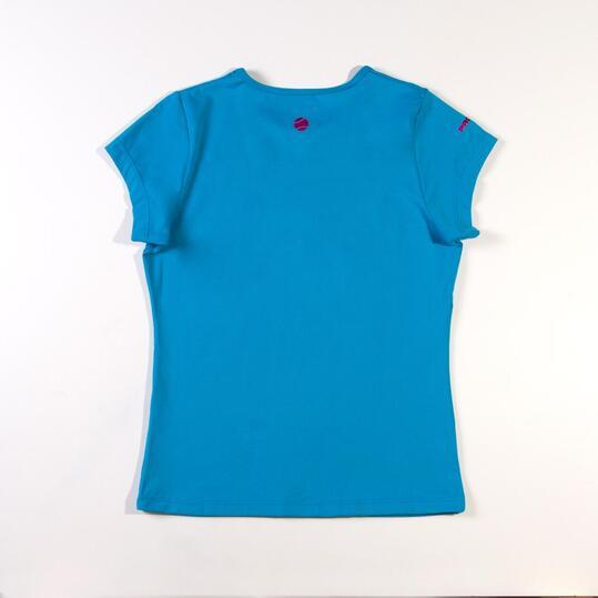 Camiseta PROTON Azul Niña (10-16)