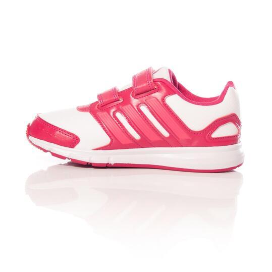 ADIDAS LK SPORT Zapatillas Running Blanco Rosa Niña (28-35)