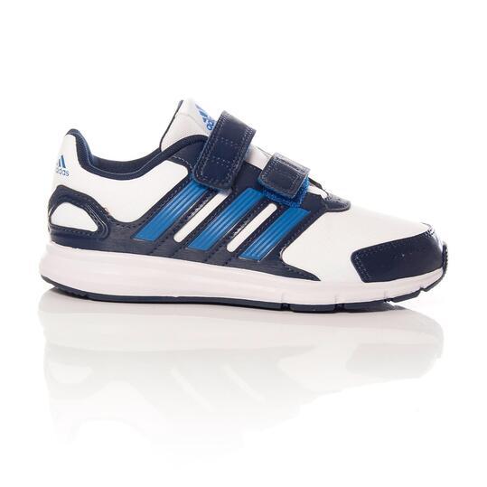 ADIDAS LK SPORT Zapatillas Running Blanco Azul Niño (28-35)