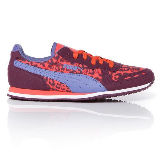 PUMA Sneakers Estampado Leopardo Niña (36-38,5)