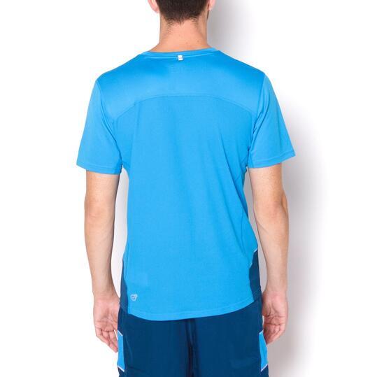 PUMA Camiseta Running Azul Hombre