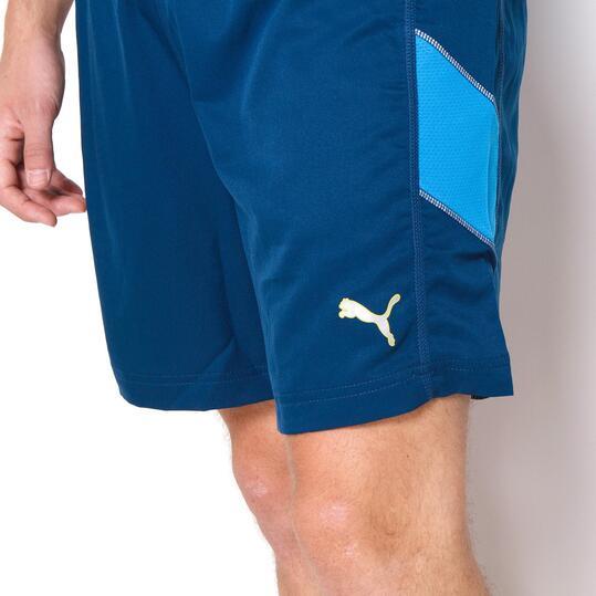 PUMA Pantalones Cortos Running Azul Hombre