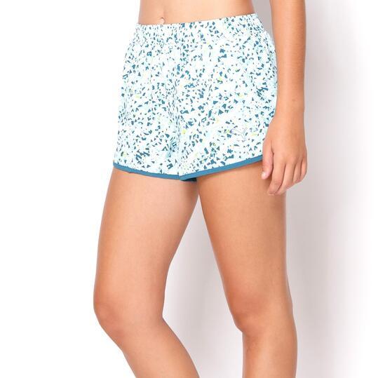 PUMA Shorts Running Blanco Mujer