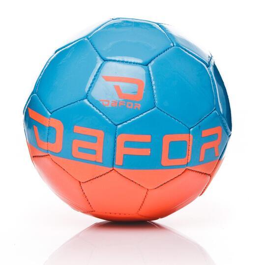 DAFOR MiniBalón Fútbol Coral Azul