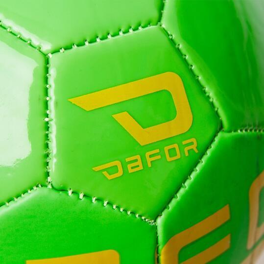 DAFOR MiniBalón Fútbol Amarillo Verde
