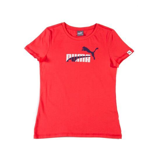 PUMA FUN Camiseta Manga Corta Coral Niña (10-16)