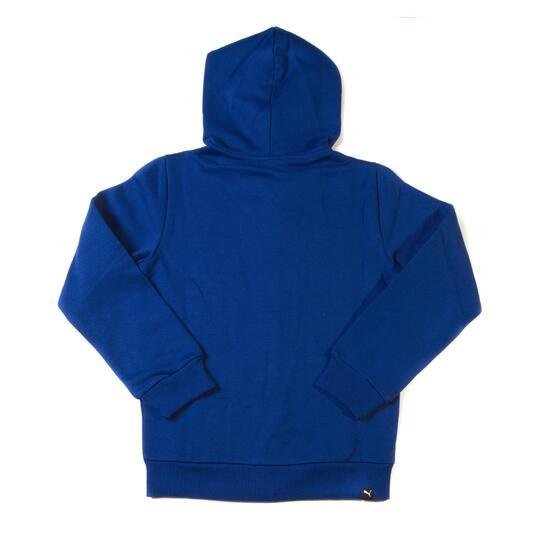 PUMA FUN Sudadera Capucha Azul Niño (10-16)