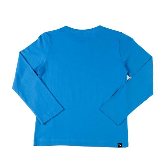 PUMA Sudadera Básica Azul Niño (10-16)