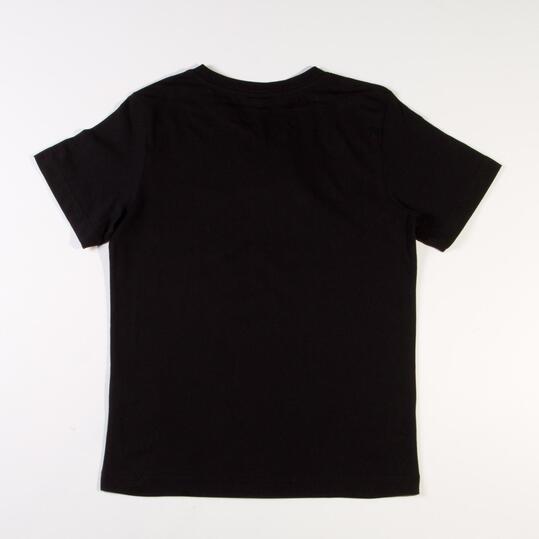 PUMA ESS Camiseta Negro Niño
