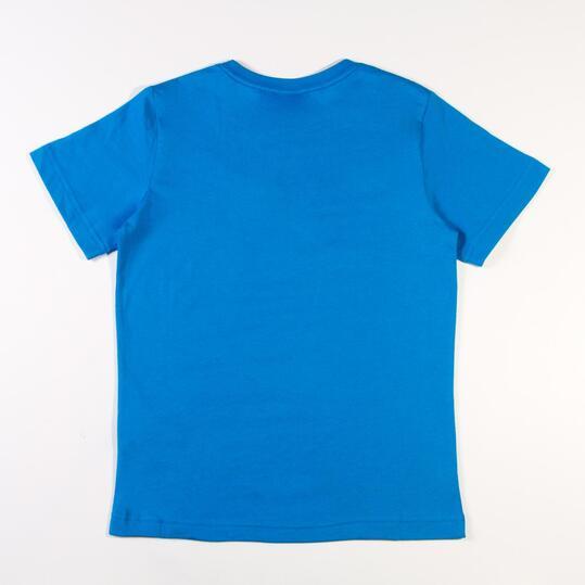 PUMA ESS Camiseta Azul Niño