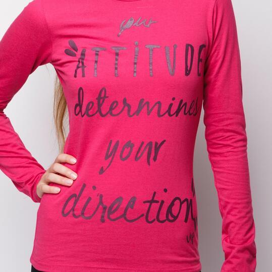 Camiseta UP Fresa Mujer