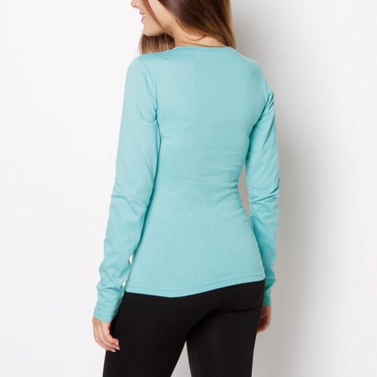 Camiseta UP Verde Mujer