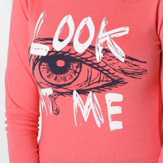 Camiseta UP Rosa Mujer