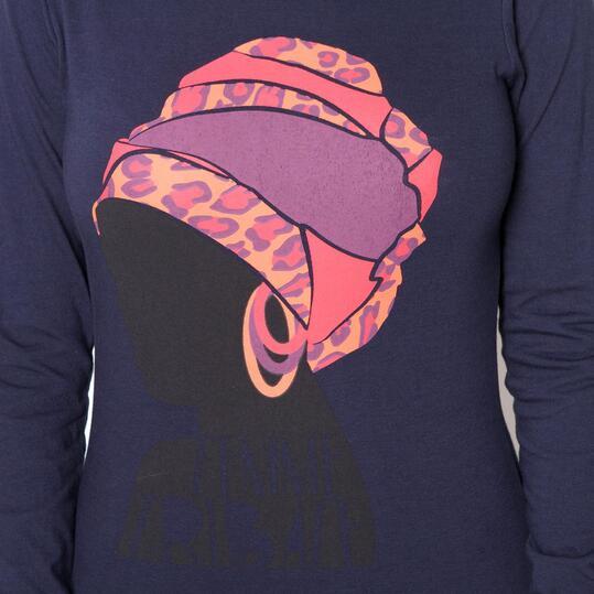 Camiseta UP Marino Mujer