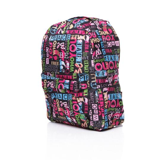 UP Mochila Estampada Unisex