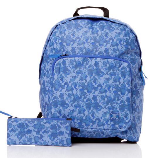 SILVER Mochila Azul Estampada Niño