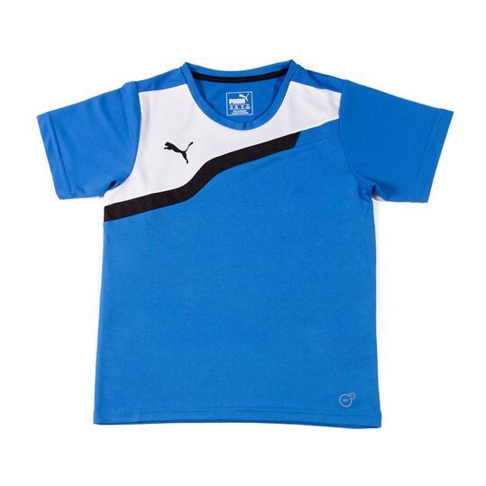 PUMA Camiseta Fútbol Azul Niño (10-16)
