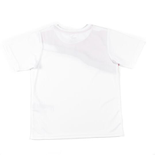 PUMA Camiseta Fútbol Blanco Niño (10-16)