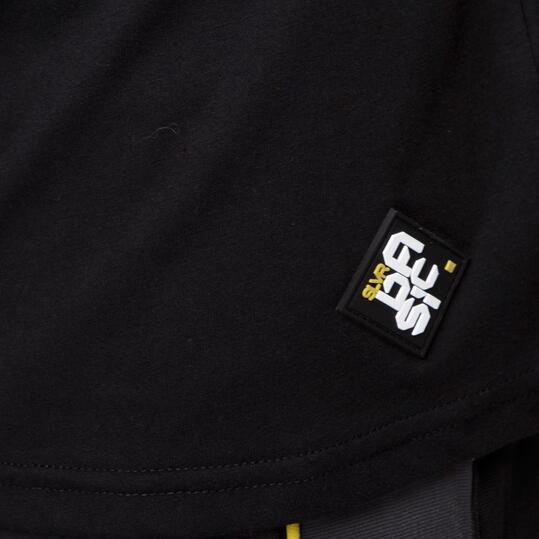 Camiseta SILVER Negro Hombre