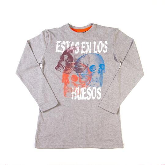 Camiseta SILVER Gris Niño (10-16)