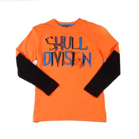 Camiseta SILVER Naranja Niño (10-16)