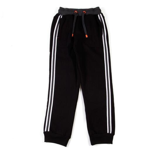 SILVER Pantalones Negro Niño (10-16)