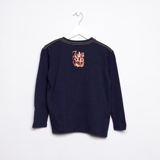 Camiseta SILVER Marino Niño (2-8)