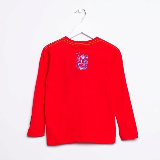 Camiseta SILVER Rojo Niño (2-8)