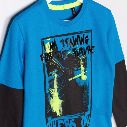 Camiseta SILVER Azul Niño (2-8)