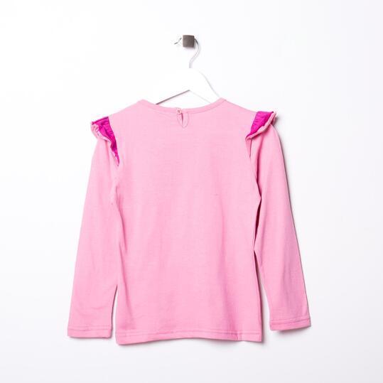 Camiseta SILVER Rosa Niña (2-8)