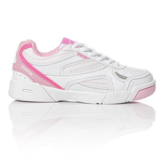 Zapatillas Tenis Blancas Rosa Niña Proton (26-35)