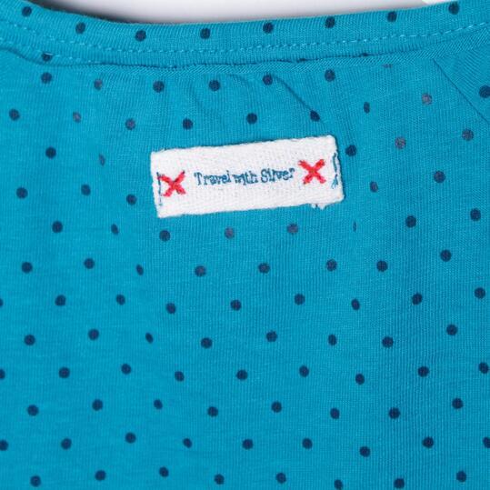 SILVER Camiseta Turquesa Niña (2-8)