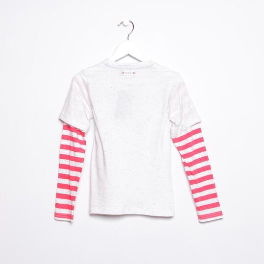 Camiseta SILVER Blanco Niña (2-8)