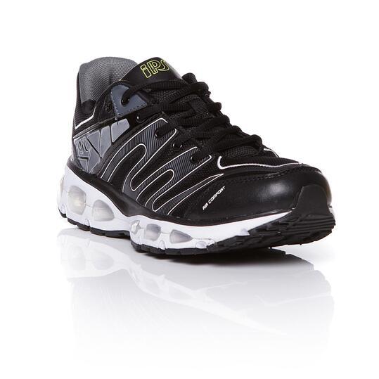 Zapatillas Running IPSO Negro Gris Hombre