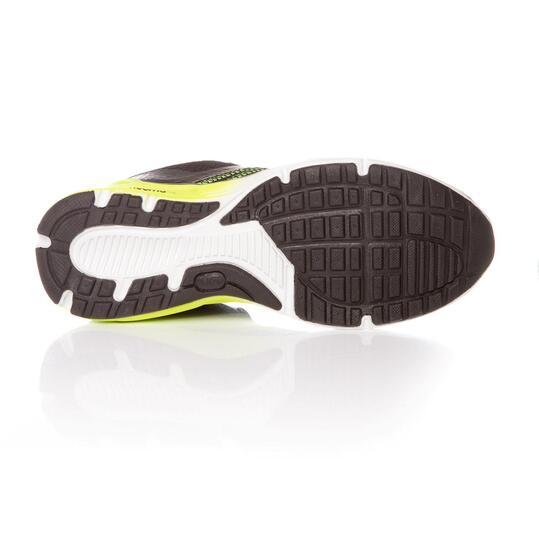 Zapatillas Running IPSO Negro Amarillo Hombre