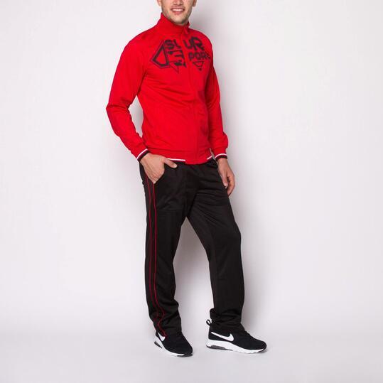 Chándal SILVER Rojo Hombre