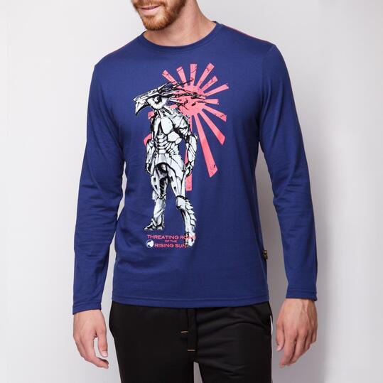 Camiseta SILVER Marino Hombre