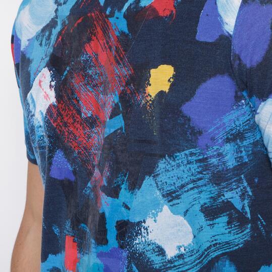 Camiseta SILVER Multicolor Hombre