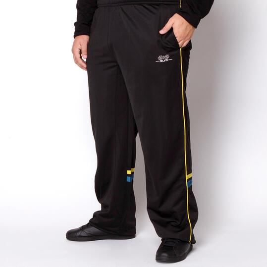 Pantalones Talla Gande SILVER Negro Hombre
