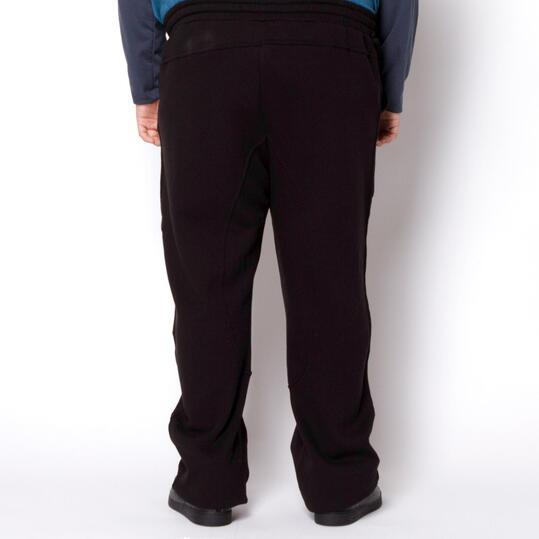 SILVER Pantalones Talla Grande Negro Hombre